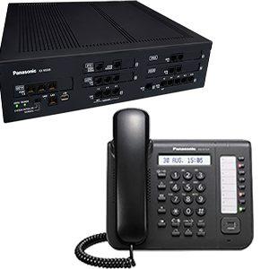 Combo Planta IP Panasonic KX- NS500 + Teléfono digital KX DT543