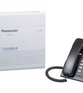 Planta Telefónica Panasonic KXT 824 + Teléfono Panasonic KX T7730