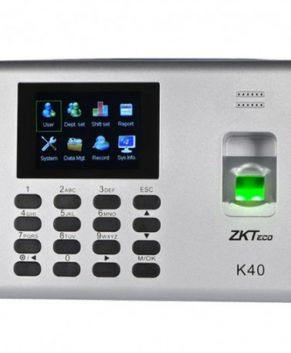 K-40/ ID ZKTeco TERMINAL CONTROL DE ACCESO Y TIEMPO, ASISTENCIA BIOMÉTRICO RFID PARA UNA PUERTA